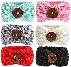 Ranipobo Baby Girl Knit Crochet Turban Warm Headbands