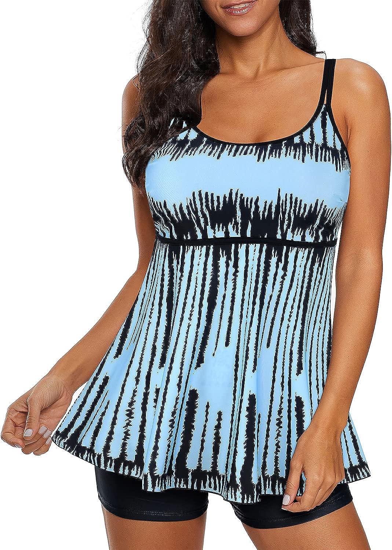 Zando Max 84% OFF Max 65% OFF Two Piece Swimsuit for Women Contr Tummy Tankini Size Plus