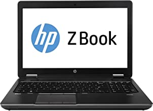 HP ZBook 15in Mobile Workstation - Intel Core i7-4800MQ 2.7GHz 8GB 500GB HDD DVDRW Windows 10 Professional (Renewed)