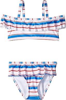 Stripe Two-Piece Swim (Toddler/Little Kids/Big Kids)