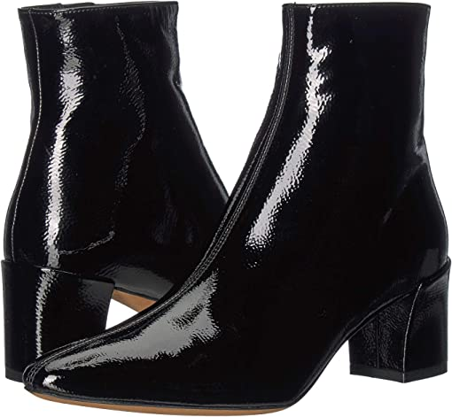 Black Chic Patent Leather