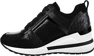 حذاء رياضي اسفيني للنساء، حذاء المشي بكعب عالٍ عصري خفيف الوزن، من يولاندا زولا