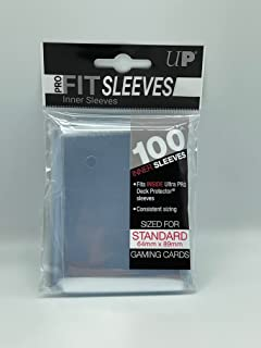 Ultra Pro-Fit Sleeves 82712 Couvre-lettres, Couleur transparente, divers