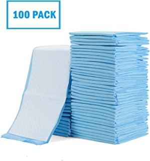 Rocinha Baby Disposable Underpad Disposable Changing Pads for Baby Waterproof Diaper Changing Pad Breathable Underpads Bed Table Protector Mat, 17 Inches x 13 Inches, Pack of 100