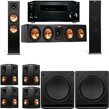 Klipsch RP-280F Tower Speakers-SW-112-7.2-Onkyo TX-RZ810