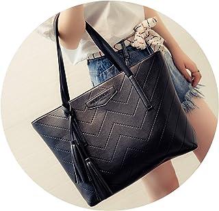 バッグ女性の雰囲気のショルダーバッグの女性の大きな袋puの大容量のシンプルなトートバッグのポータブルレディースバッグ
