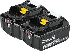 Makita Makita BL1850b Li-Ion accu 18 V/5 Ah (laadstatusindicator inbegrepen)