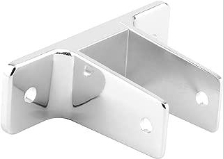 Sentry Supply 650-6368 2 Ear Wall Bracket, 1-1/4-Inch, Chrome