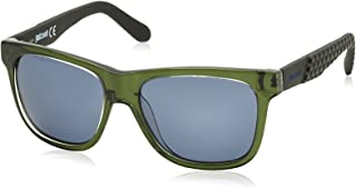 Just Cavalli JC648S Sunglasses, Grey (Green/Blue), One Size (Size:54-16-140)
