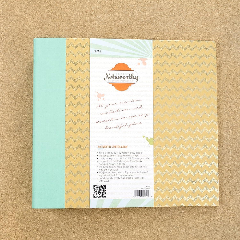 Sew Easy Industries 3 Ring Bemerkenswert Creative Memory Tagebuch, 12 von 12 Zoll, trendige B00GXEXOWI    Outlet Store