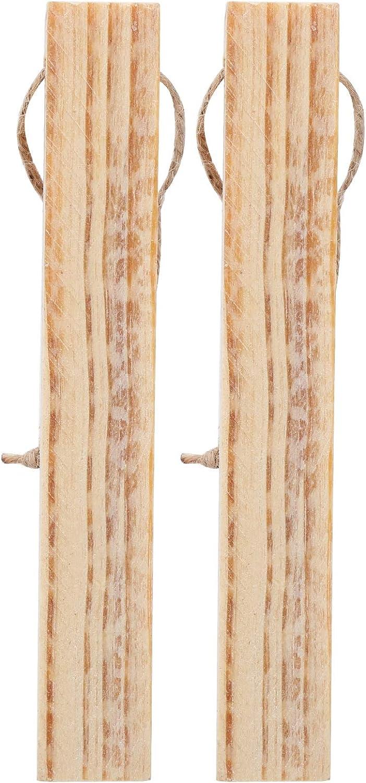 LIUTT Firewood Wood 2Pcs Set Selling rankings Camping Phoenix Mall Torches Mini Pine