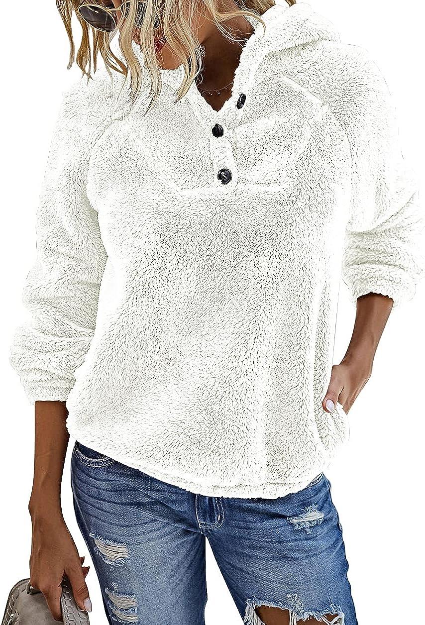 KIRUNDO 2021 Winter Women's shipfree Fleece Ranking TOP15 Long Sweatshirts Hoodies Slee