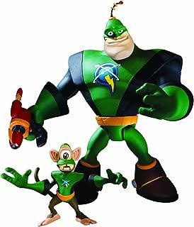 Ratchet & Clank Series 1: Captain Qwark with Scrunch Action Figure