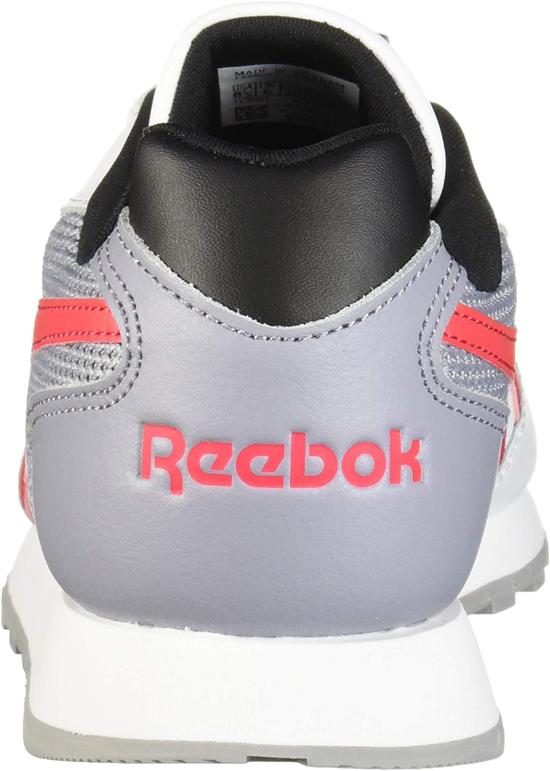 Reebok Women's Classic Harman Run Sneaker White Shadow Pink Black wL77hR