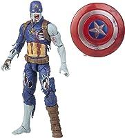 Marvel Hasbro Legends Series - Figura del Capitán América Zombi de 15 cm - con diseño Premium y 1 Accesorio