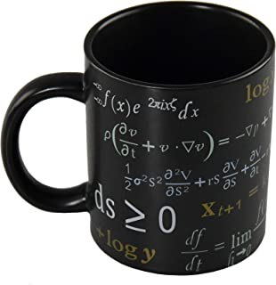 ARAD Math Coffee or Tea Mug, Birthday Gift for Men and Women, Funny Scientist Cup