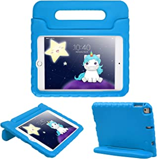 HDE iPad Mini 5 Case (2019 Release) - Protective Shockproof Cover for Kids Compatible with New 5th Generation Apple iPad Mini 5 and 4th Generation iPad Mini 4 (2015-2018) - Blue