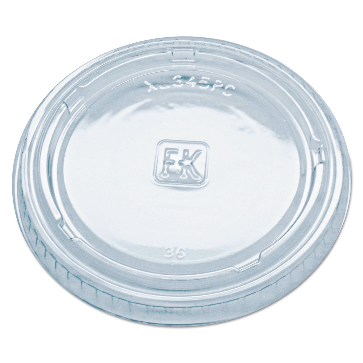 Fabri-Kal Fashion XL345PC Clear Polyethylene 3.25 Limited time trial price Terephthalate for Lid
