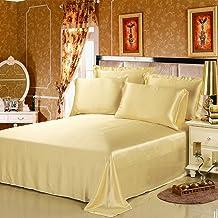 Lilysilk 1B02-07-FL 100% Mulberry Silk Sheets Set 4pcs 19 Momme Full Gold