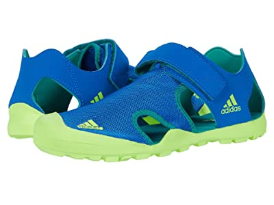 adidas Outdoor Kids Captain Toey (Little Kid/Big Kid) (Glory Blue/Signal Green/Glory Green) Boys Shoes