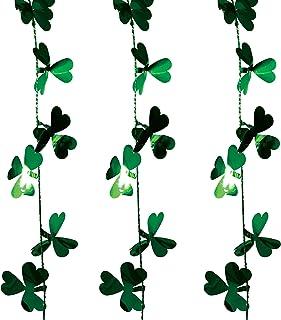 Brite Star St. Patrick Tinsel, 12ft, Green