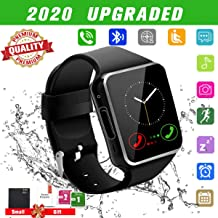 Android Smart Watch for Women Men, 2020 Bluetooth Smartwatch Smart Watches Touchscreen with Camera, Cell Phone Watch with SIM Card Slot Compatible Android Samsung iOS Phones XS 8 10 11 Note Adult