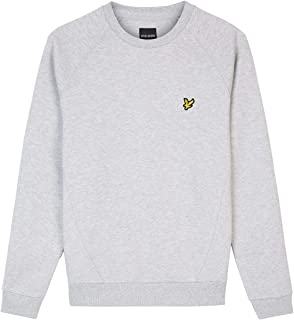 Lyle and Scott Mens Raglan piqué Sweatshirt - Cotton