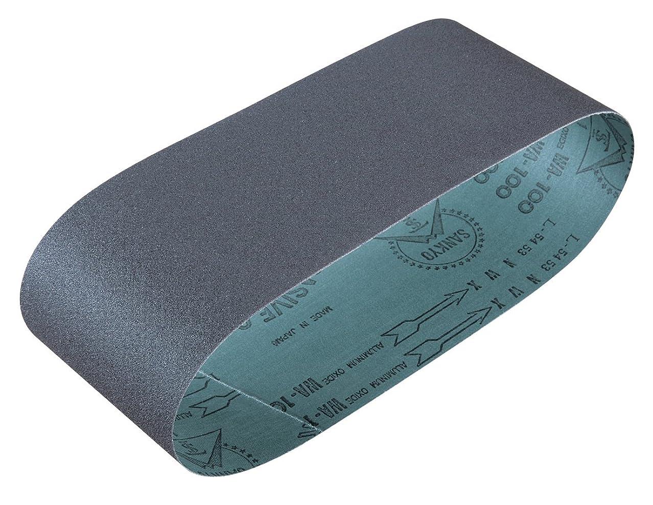 まだ信念少年マキタ(Makita) サンディングベルト #240 100×610mm 木工用 (5枚入) A-24228