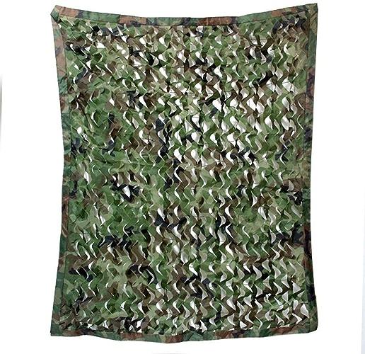 Bache de tente Réseau de camouflage en mode jungle Filet de camouflage aérien pour la photographie en plein air Observation d'oiseaux Décoration d'intérieur Net multi-taille en option (taille  4  5m)