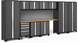 NewAge Products Bold 3.0 Gray 12 Piece Set, Garage Cabinets, 56056