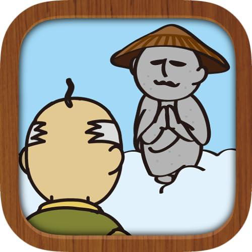 かさじぞう。地蔵の笠をどんどん積む無料の育成ゲーム
