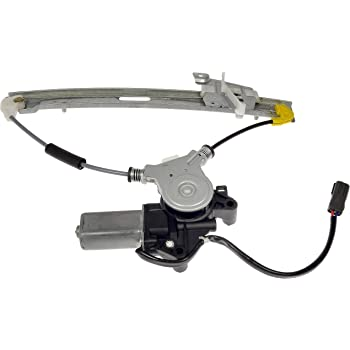 Dorman 748-617 Rear Driver Side Power Window Motor and Regulator Assembly for Select Ford / Mercury Models