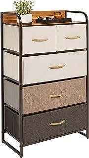 mDesign Nowoczesny organizer z szufladami – Niewielka komoda do gabinetu, sypialni i salonu – Pojemna szafka z szufladami...