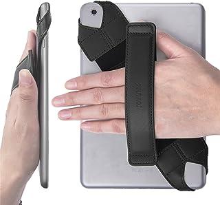 Universal Tablet Hand Strap Holder Joylink 360 Degrees Swivel Leather Handle Grip with Elastic Belt Secure & Portable for ...