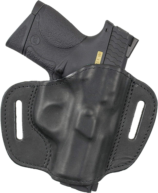 100% Genuine Leather (OWB) Gun Holster S&W M&P, Shield, S&W
