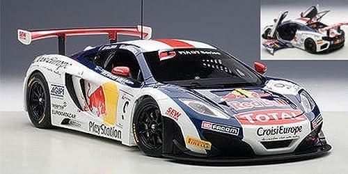 AUTOart AA81342 MC Laren 12C GT3 N.9 FIA GT 2013 S.LOEB-A.PARENTE 1 18 DIE CAST kompatibel mit