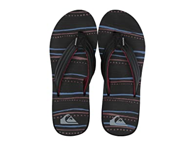 Quiksilver Carver Print (Black/Red/Blue 2) Men