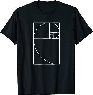 Fibonacci Spiral Fibonacci TShirt Golden Ratio Shirt