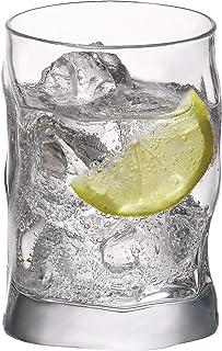 Bormioli Rocco 340420 Sorgente Whiskyglas, 300ml, Glas, transparent, 6 Stück