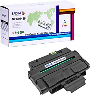 BAISINE Compatible WorkCentre 3210 Toner Cartridge for Xerox 106R01486 Xerox WorkCentre 3210, Xerox WorkCentre 3220 Printer - High Yield 4,100 Pages (Black, 1 Pack)