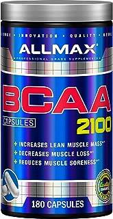 ALLMAX Nutrition BCAA 2:1:1 Capsules, 180 Capsules