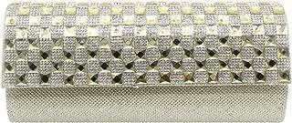 Wiwsi Quality Women Diamante Evening Clutches Bag Party Club Prom Handbag Purses