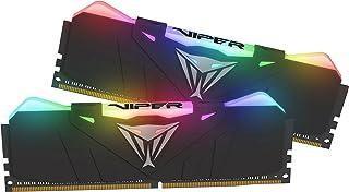 Patriot Viper Gaming RGB Series DDR4 DRAM 3600MHz 16GB - Black - RGB Color Profiles