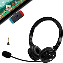 $57 » Wireless Gaming Headset Set for Nintendo Switch & Lite, Friencity Bluetooth Headphones w/USB C Transmitter for PS4 PC, Mac...
