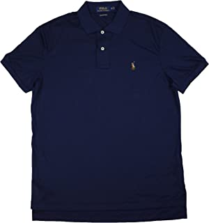 Mens Pima Soft Touch Rugby Polo Shirt