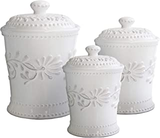 white canister sets