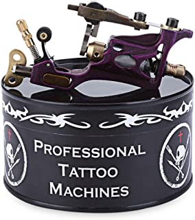 BISOZER Rotary Tattoo Machine Gun, NEW Dragonfly Liner Shader Body Art Beauty Machines Alloy Rotary Motor Tattoo Machines Supplies, Silent Low Vibrating High performance