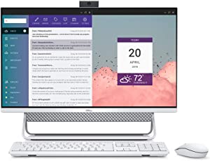 Dell Inspiron 7700 AIO Desktop, 27-inch FHD Infinity Touchscreen All in One - Intel Core i7-1165G7, 12GB 2666MHz DDR4 RAM, 1TB HDD + 256GB SSD, Iris XE Graphics, Windows 10 Home- Silver (Latest Model)