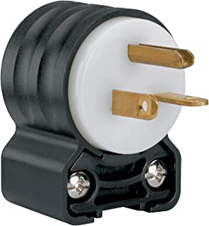 Legrand - Pass & Seymour PS5466SSANCC4 Straight Blade Angled Plug Three Wire 20-Amp 250-volt Easy Install