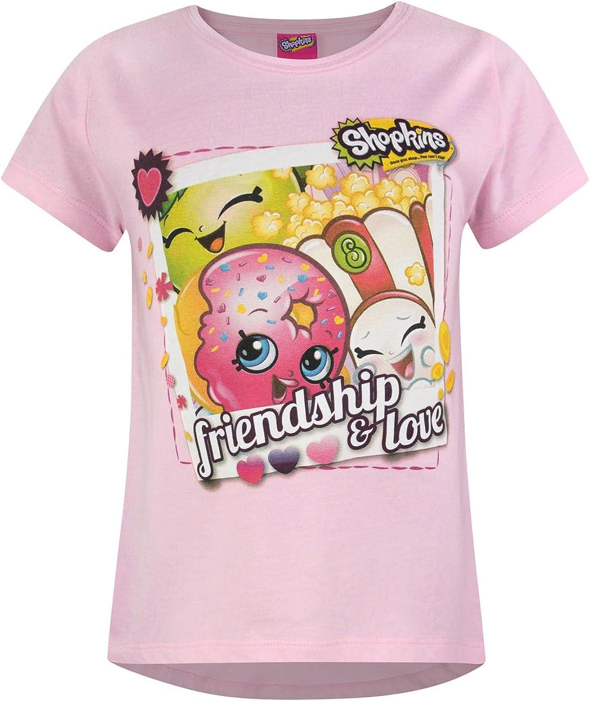 Shopkins Friendship Japan's Overseas parallel import regular item largest assortment Love Girl's T-Shirt